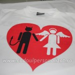 tricou personalizat love