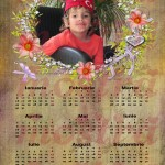 calendar personalizat 2012  model 10