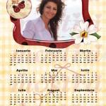 calendar personalizat 2012 model 12