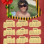 calendar personalizat 2012 model 13