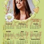 calendar personalizat 2012 model 2