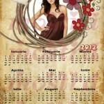 calendar personalizat 2012 model 4