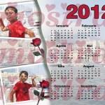 calendar personalizat 2012 model 6