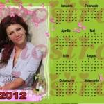 calendar personalizat 2012 model 7